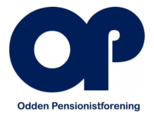Nyt fra Odden pensionistforening