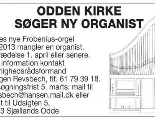 Søger Organist
