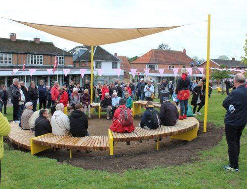 Nye rammer for fællesskab og samvær i Asnæs blev indviet