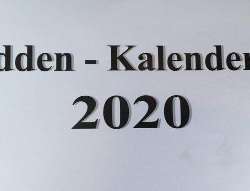 Release Mande kalender 2020