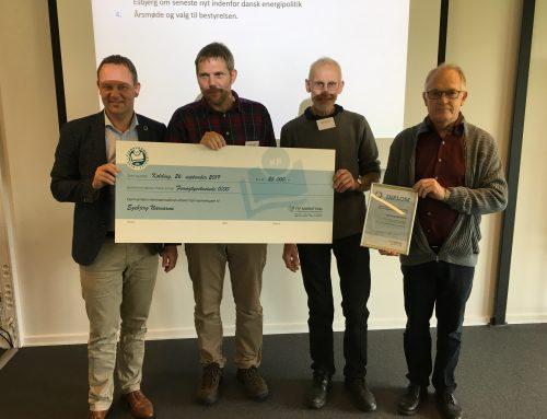 Egebjerg får pris for nærvarmeprojekt