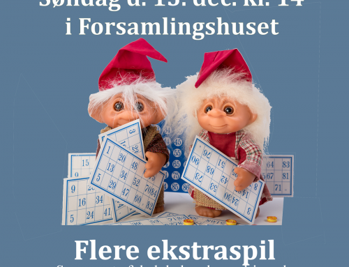 Jule Banko i Odden forsamlingshus
